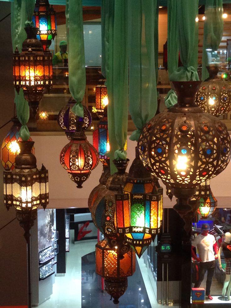 Ramadan decoration, Plaza Indonesia Mall, Jakarta