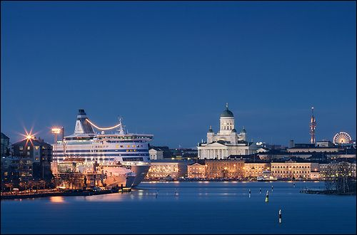 helsinki skyline by marcus rüter, via Flickr