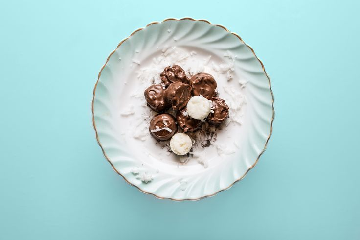 Coconut chocolate Candies by Grandma Mabel