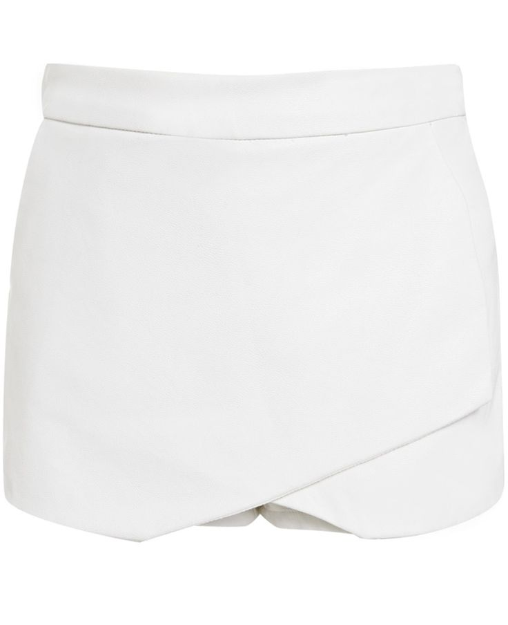 Girl's Leatherette Skort - Bardot Junior