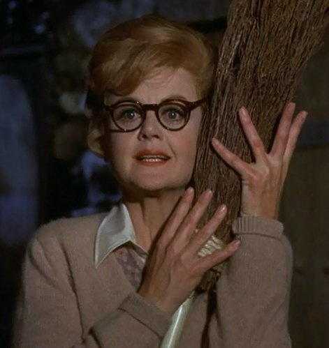 "The witch from the movie 'Bedknobs and Broomsticks'- Eglantine Price. ""Treguna, Mekoides, Trecorum Satis Dee."""
