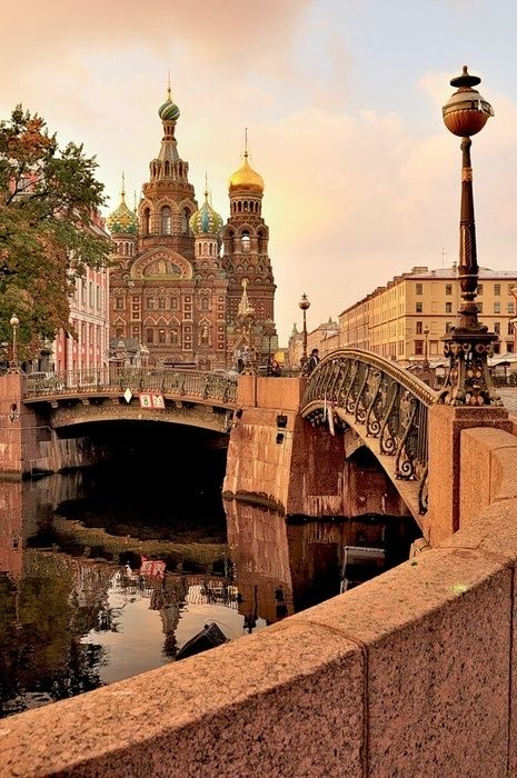 Russia, CHURCH OF THE SPILLED BLOOD. WHERE PETER THE GREAT WAS ASSIGNATED