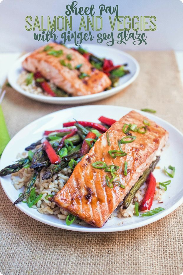 Meet your new favorite fast, easy, and healthy weeknight meal: Sheet Pan Asian Salmon with Veggies. #ad #seafood2xwk @dish