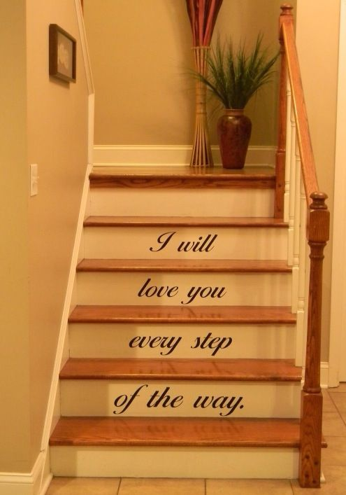 17 Best Images About Stair Risers On Pinterest Vinyls