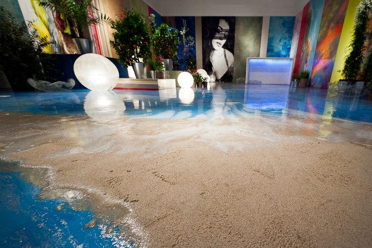 Gobbetto_Passione Mediterranea - Fuori Salone 2012 - Triennale Resin flooring