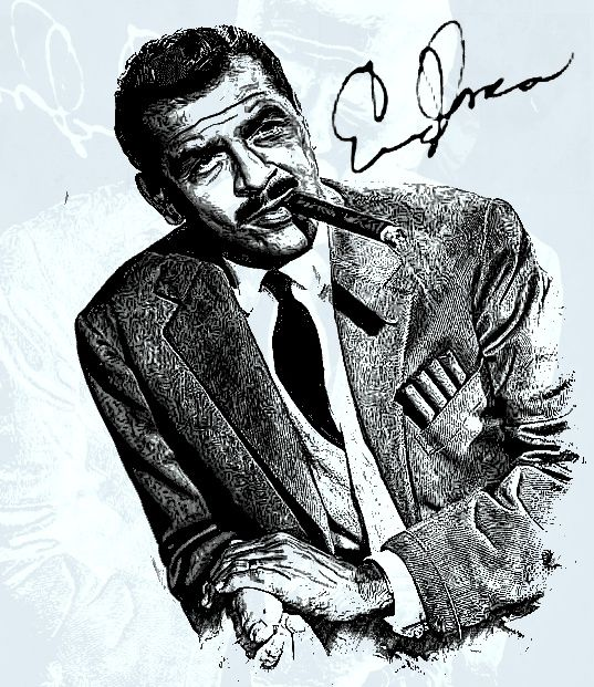 "Ernest Edward ""Ernie"" Kovacs (January 23, 1919 – January 13, 1962) was an American comedian, actor, and writer."