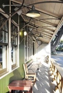 Rustic Sconces, Warehouse Shades Complete Roadside Cafe Remodel | Blog | BarnLightElectric.com