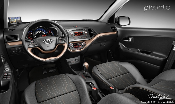 Daniel_Brok KIA Picanto Car Interior  Luxology > Gallery