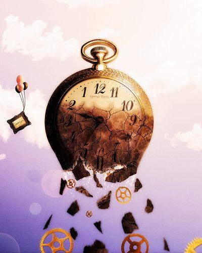 Surreal Image - Clock derek
