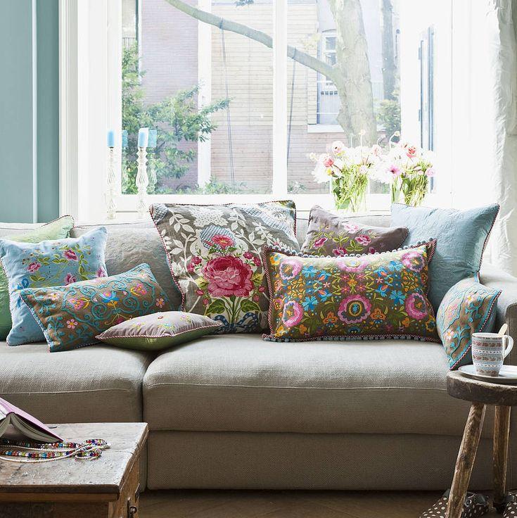 Shabby Chic Grande Cushion By PiP Studio