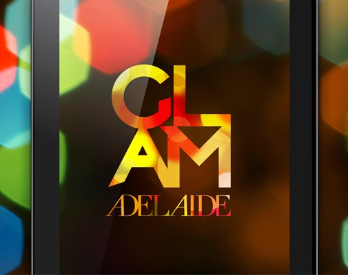 Glam Adelaide logo - Black Squid design