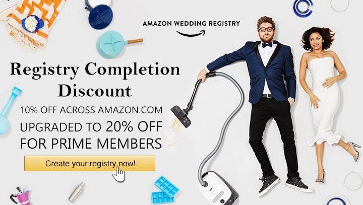 Amazon Wedding Registry Guide Review Wedding Gift List Ideas Clickshipnow In 2020 Amazon Wedding Registry Wedding Registry Guide Wedding Gift List