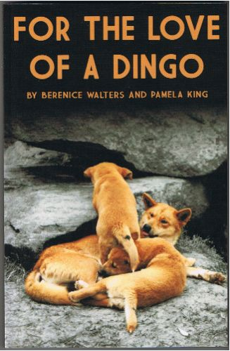 For the Love of a Dingo - Front cover