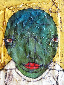 Cream Corn by Michael Banks | Jeanine Taylor Folk Art Gallery |