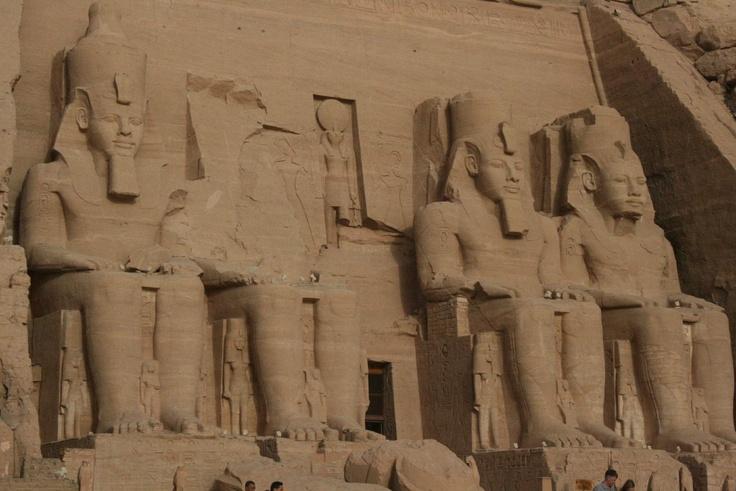 Egypt, Abu Simbel, Ramses II. Temple