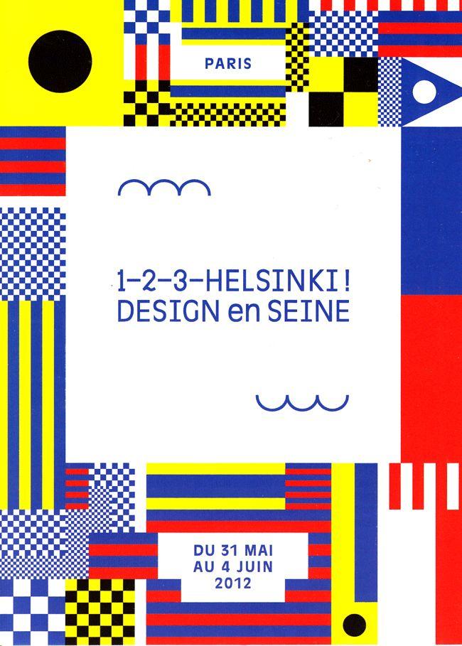 1–2–3–Helsinki ! Design en Seine