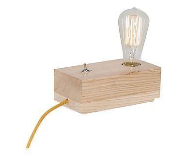 Lampada da tavolo in legno Fun II - 10x19 cm