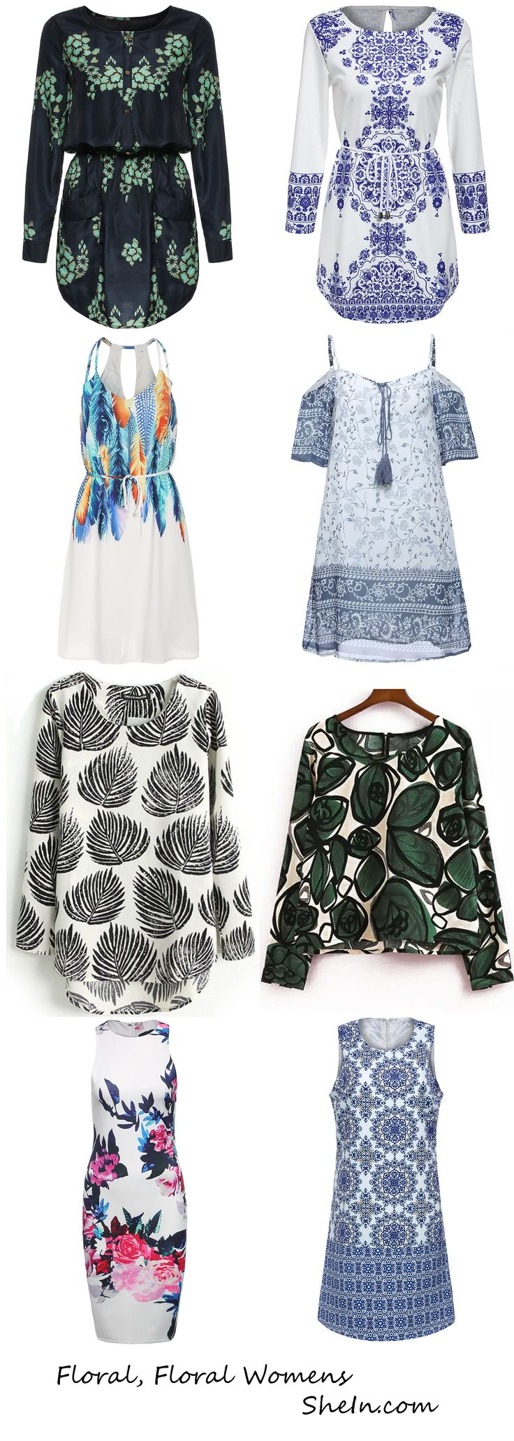 Floral Clothing from SheIn - Fashion Trendy