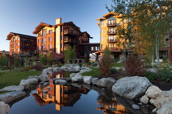 3 bedroom, 3.75 bath lock-off condo in beautiful Hotel Terra - a condotel at the base of the Jackson Hole Mountain Resort in Teton Village, Wyoming. Jackson Hole, Wyoming. (14-445) www.spackmansinjh.com