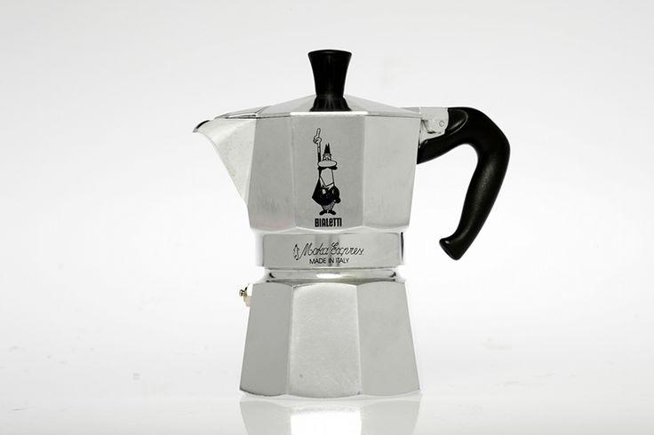 Bialetti Moka - Cafetera Moka Hasta la actualidad se han vendido más de 330 millones de unidades, lo que la ha convertido en un icono del siglo XX