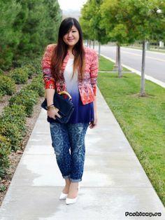 jas wanita untuk model badan big size ataupun gendut dan gemuk supaya terlihat lebih langsing kurus dan ramping pilihan warna yang tepat dan model bagus