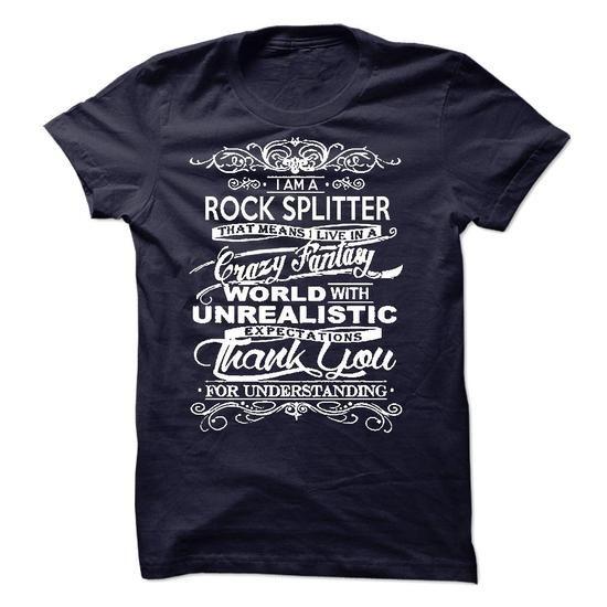 I Am A Rock Splitter T-Shirts, Hoodies (22.99$ ==► Order Shirts Now!)