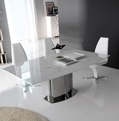 Rodeo Drive Marble Dining Table Image