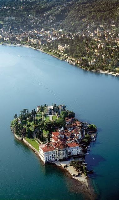 Isola Bella (lit. 'beautiful island') is one of the Borromean Islands of Lago Maggiore in north Italy. The island is situated in the Bor...