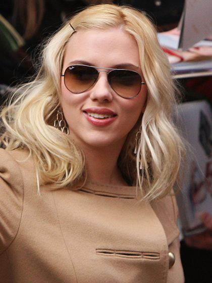 The best sunglasses for every face shape: If you have a heart-shaped face, like Scarlett Johansson, look for aviators