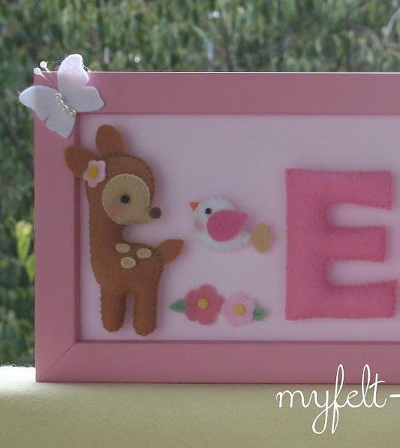 Hey, I found this really awesome Etsy listing at https://www.etsy.com/listing/268036387/personalized-baby-frame-felt-name-banner