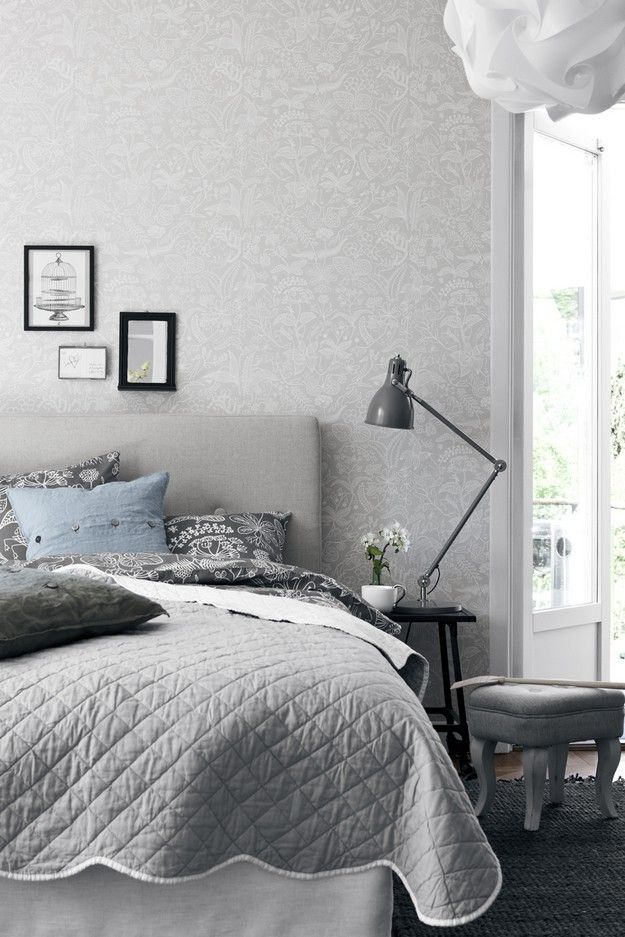 Grazia by Stig Lindberg so soft & inviting & has hidden facesin the flaura & fauna of intricate and delicate design, so beautiful.