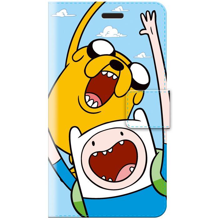 【楽天市場】アドベンチャー・タイム 手帳型iPhone6/6sカバー/フィン&ジェイク