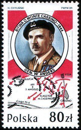 Battle of Monte Cassino, Gen.W.Anders