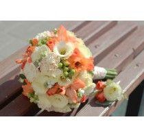 Букет невесты ,,Коралловый поцелуй,,