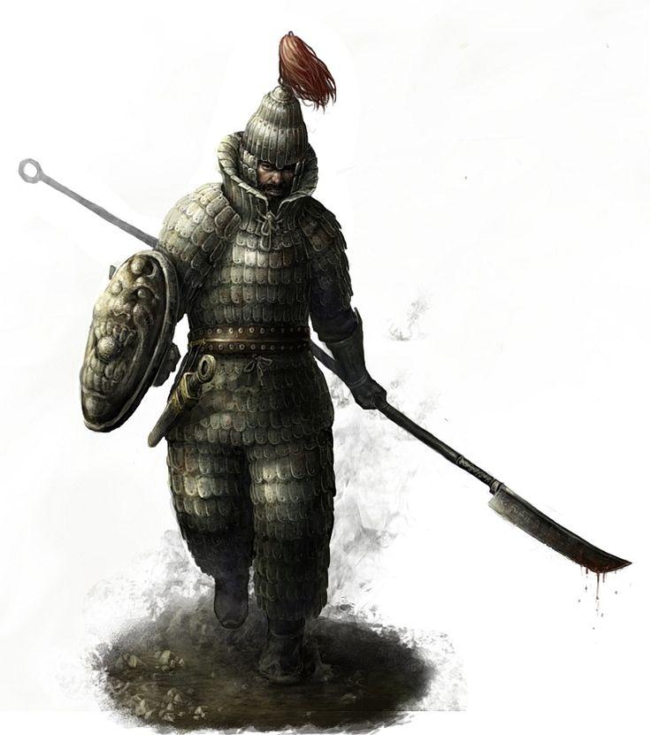 korean warrior(Goguryeo) by choigebareun.deviantart.com on @deviantART