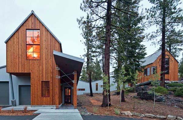 Tahoe Ridge House, Front