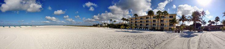 Panorama Aufnahme von Fort Myers Beach in der Nähe des Outrigger