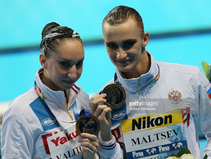 Darina Valitova /Aleksandr Maltsev RUSSIA, the Mixte Duet winners
