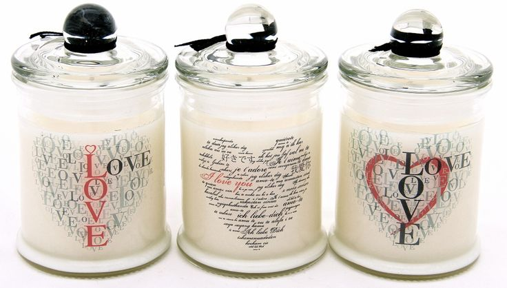 Personalized scentedsoy candles.