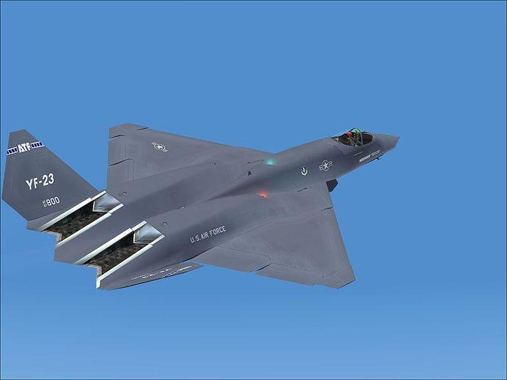 Northrop/McDonnell Douglas YF-23 Black Widow II