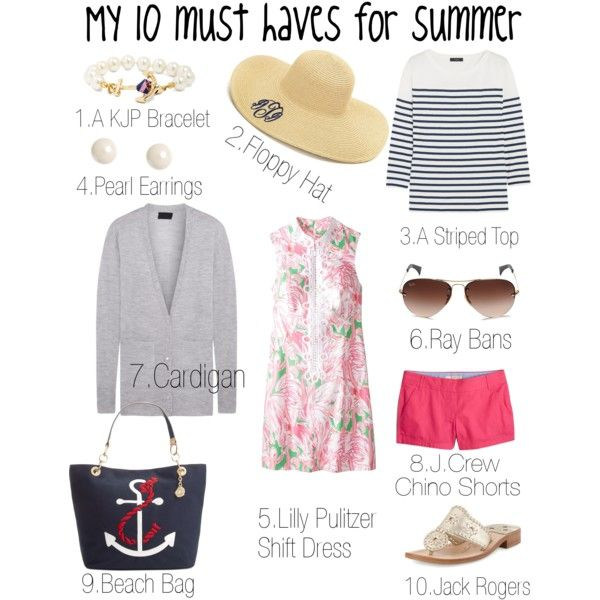 My 10 Must Haves For Summer