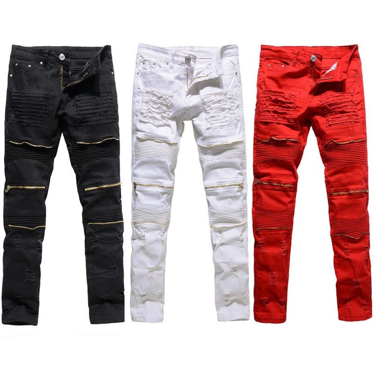 17.04$  Buy now -  Brand Jeans Men Casual Straight Denim Men's Fashion Jeans Slim denim overall Brands jean homme Biker jeans   #buymethat