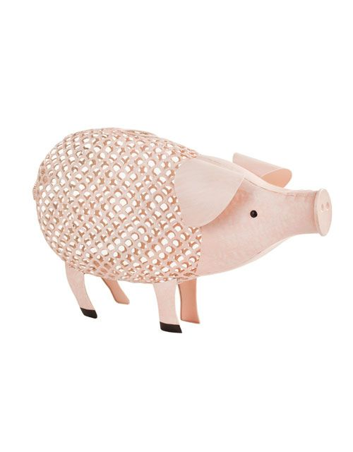 Pig Cork Holder for $40.00 from WineRacks.com  Never lose a cork again! Preserve and display your favorite corks. This pink pig is decorative, functional and a perfect addition to any kitchen.       Holds approximately 120 corks     Distressed metal finish