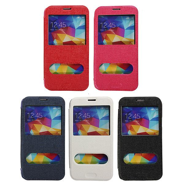 Flip PU Leather Protective Case For Samsung Galaxy S5 i9600…