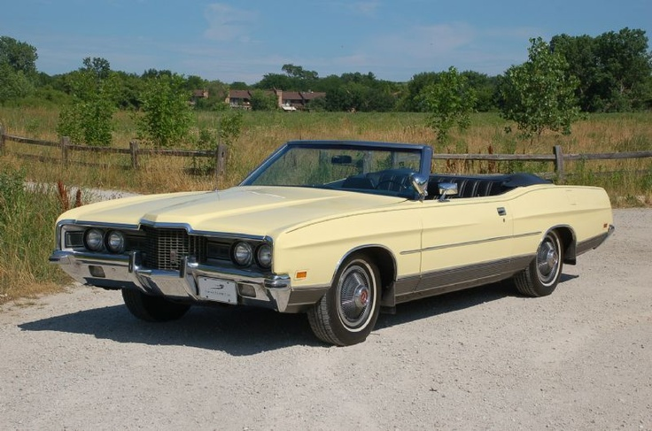 1971 Ford Ltd Convertible Cars Pinterest