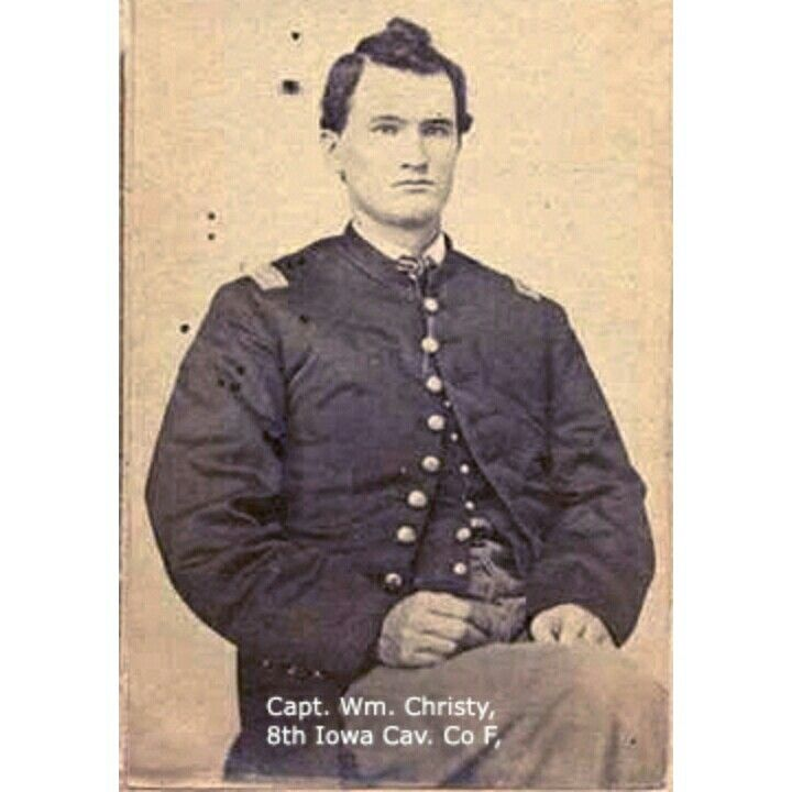 William Christy Born In Ohio Was A Capt In Co D 8th