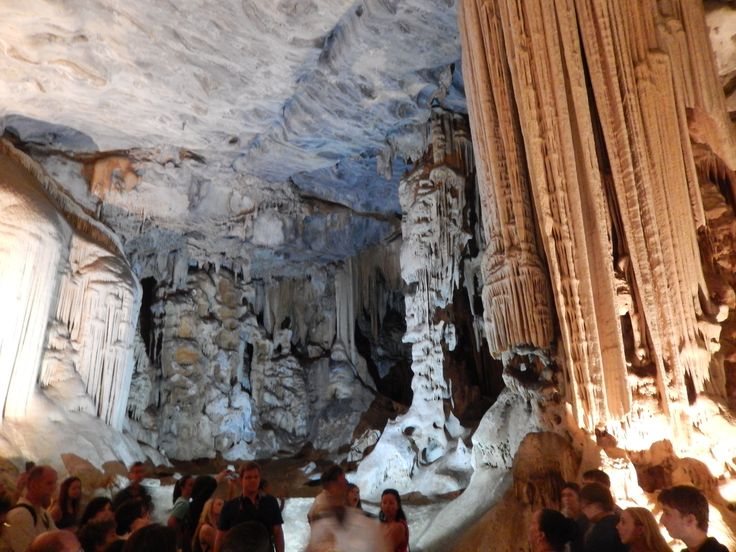 The Cango Caves, some really amazing formations.