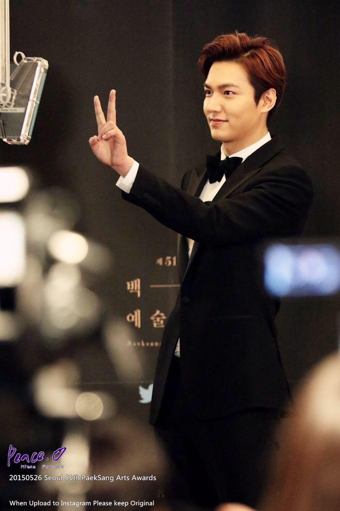 Lee Min Ho | 51st Baeksang Arts Awards (150526)