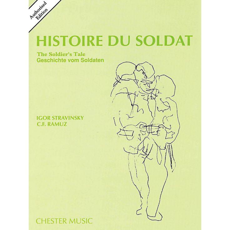 Music Sales Histoire Du Soldat (The Soldier's Tale) Stravinsky Authori