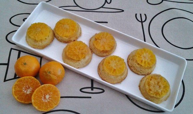 Mini tarte tatin van mandarijnen - Lekker Tafelen
